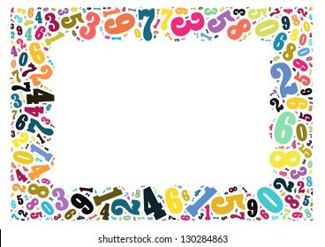 Math Frame Images Stock Photos Amp Vectors Shutterstock