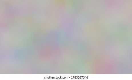 Colorful paint on a canvas (3D Rendering)