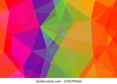 Colorful polygonal background. Creative Design Templates.