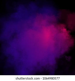 Colorful Powder Background, Colorful Clouds