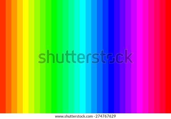 Colorful Rainbow Abstract Background Rgb Color