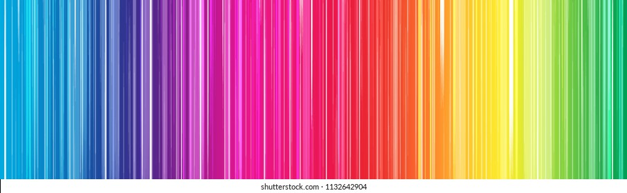 Colorful rainbow abstract background for web design. Color gradient. Spectrum.