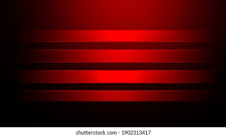 Colorful red blurred light stripes in motion over abstract background. Rainbow rays. Led Light. Future tech. Shine dynamic scene. Neon flare. Magic moving fast lines. Glowing wallpaper.
