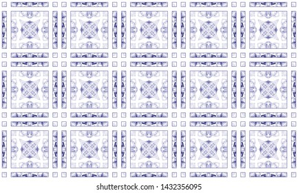 Colorful seamless pattern for textile and design