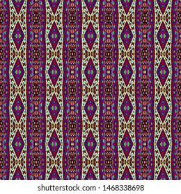 Colorful seamless Persian Carpet. Ethnic texture abstract ornament. Middle Eastern Traditional Carpet Fabric Texture. Arabic,turkish carpet ornament. African Textures and traditional motifs, vintage.