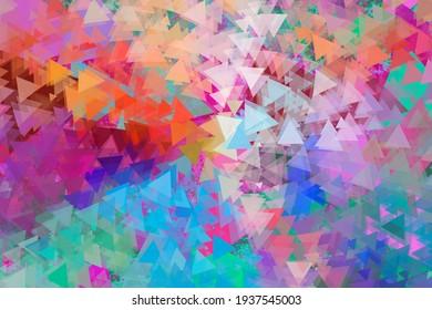 Colorful shape artistic color interesting creative