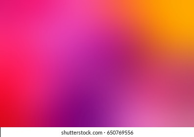 colorful shiny background blurred - abstract red, violet, yellow gradient