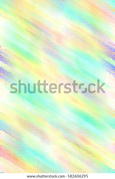 Colorful sloping mosaic textured vertical background for textile, ceramic tiles and design