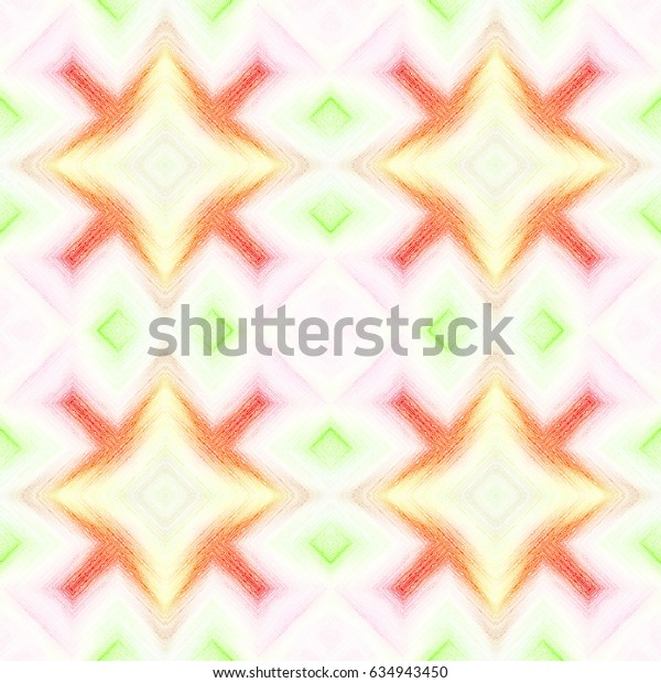 Colorful star pattern for background and design