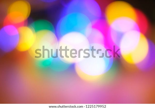 Colorful string lights glamorous glow background desktop wallpaper