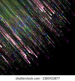colorful stripes lines, digital illustration