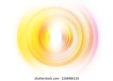 Colorful swirl radial motion abstract background illustration. Blurred whirlpool artwork circular motion effect. Beautiful spin ripple movement effect backdrop wallpaper for graphic design project