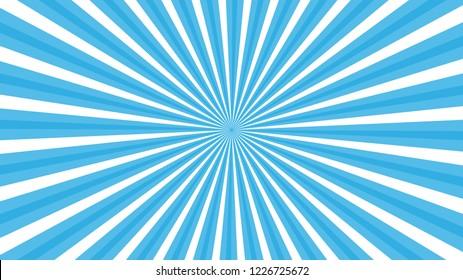 Colorful Swirling radial background Vortex starburst spiral