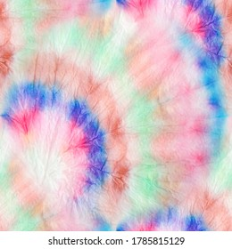 Colorful Tie Dye. Rainbow Fantasy Dirty Style. Colorful Tie Dye Template. Bright Seamless Design. Tie and Dye. Trendy Fashion Effect. Organic Abstract Dirty Painting. Watercolor Fabric.