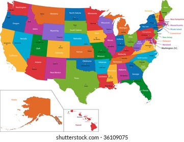 united states map states capitals State Capitals Map Images Stock Photos Vectors Shutterstock
