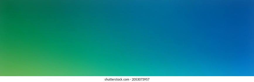 Colorful wallpaper medium persian blue. Abstract colorful blurred gradient background rich bluish green. Abstract pattern.