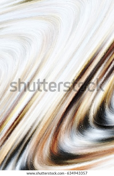 Colorful wavy pattern for backgrounds and design