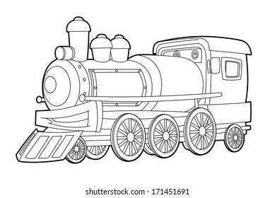 Coloring Pages Train Images, Stock Photos & Vectors ...