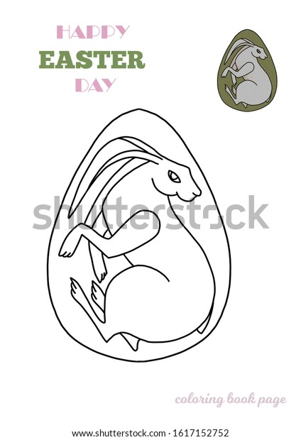 - Coloring Pages Easter Illustrations Coloring Book Stock Illustration  1617152752