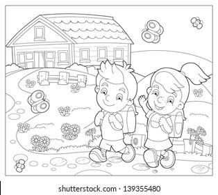Ilustraciones Imágenes Y Vectores De Stock Sobre Coloring