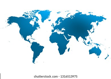 colorist map of the world background