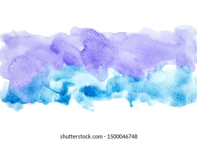 colors watercolor painting stroke background