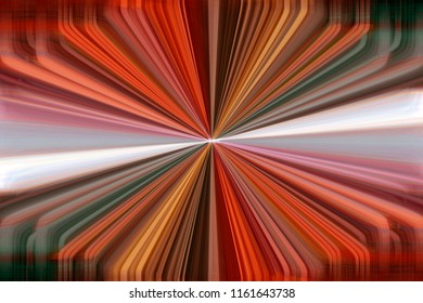 Colourful orange dynamic converging lines background