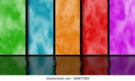 Colourful rainbow background
