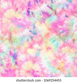 Colourful Tie Dye Print