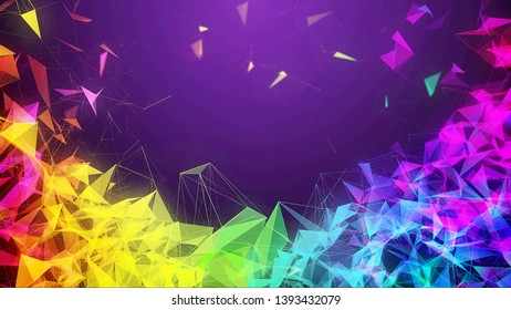 Colourfull background by stabil art