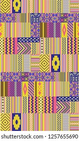 Colourfull geometrical Desgin