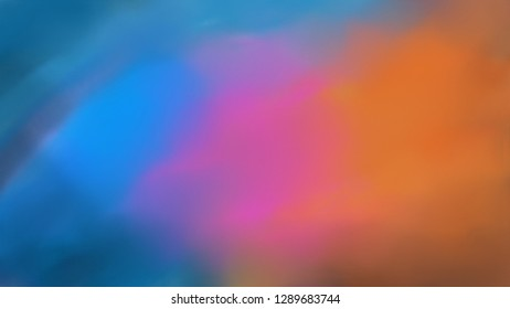 Colourfull Wall Painted Background Blurred