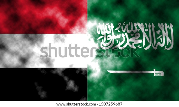 It combines the Yemen flag with the Arab flag to tell the concept of communication and dialogue.