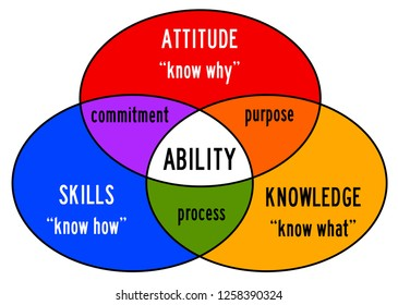 Combining skills, attitude and knowledge into ability