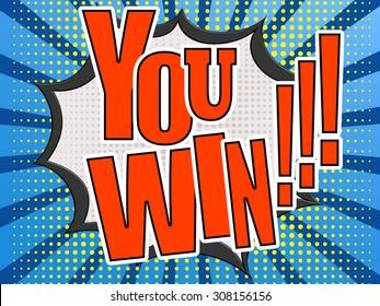 Winning Cartoon Images, Stock Photos & Vectors | Shutterstock