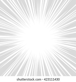 Comics Radial Speed Lines graphic effects. illustration