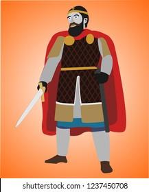 A commander of Byzantine Empire