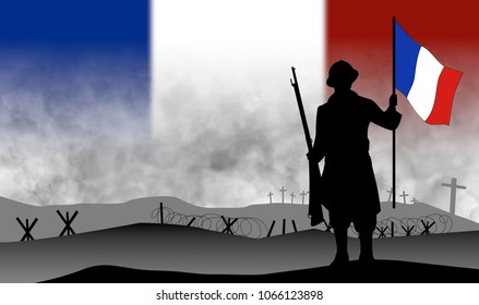 commemoration of the centenary of the great war 1918, France