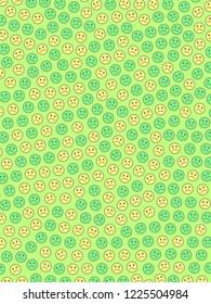 Communication backdrop. Irregular pattern. Throng comprising amusing feelings.