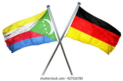 Comoros flag  combined with germany flag