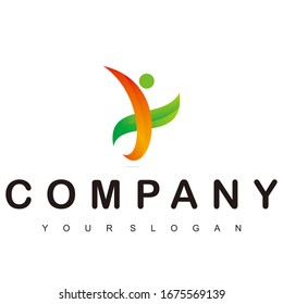 company logo for a template