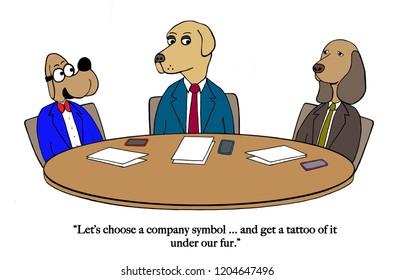 Company symbol is tattoo