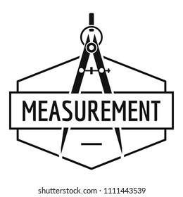Compas logo. Simple illustration of compas logo for web