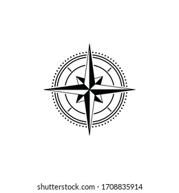 compass logo with white background