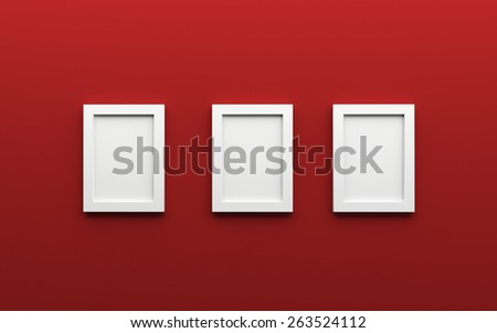 Royalty Free Stock Illustration Of Composition Red Wall On Which