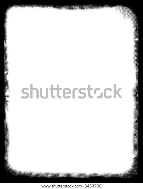 Computer designed highly detailed grunge border with space for your text or image. Nice grunge layer for your projects