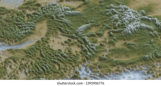 United States Map Elevation Images, Stock Photos & Vectors ...