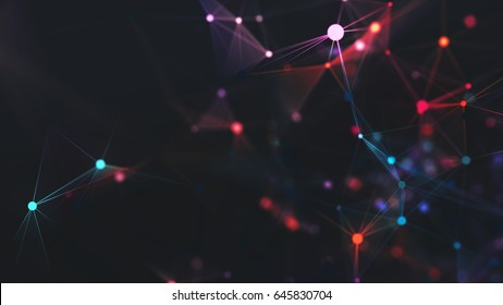 Computer generated abstract background.