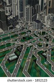 Computer Traffic network