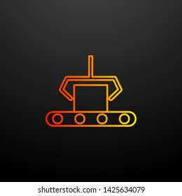 computer-aided manufacturing nolan icon. Elements of automation set. Simple icon for websites, web design, mobile app, info graphics